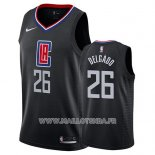 Maillot Los Angeles Clippers Angel Delgado No 26 Statement 2019 Noir