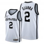 Maillot Primary Mamba Memorial Gianna No 2 Blanc