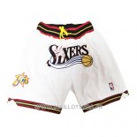 Short Philadelphia 76ers Just Don Blanc2
