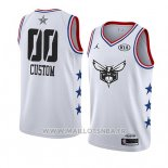 Maillot All Star 2019 Charlotte Hornets Personnalise Blanc