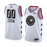 Maillot All Star 2019 Indiana Pacers Personnalise Blanc