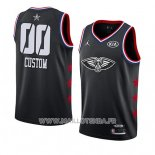 Maillot All Star 2019 New Orleans Pelicans Personnalise Noir