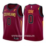 Maillot Enfant Cleveland Cavaliers Kevin Love No 0 Icon 2017-18 Rouge