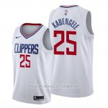 Maillot Los Angeles Clippers Mfiondu Kabengele No 25 Association 2019-20 Blanc