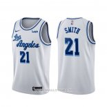 Maillot Los Angeles Lakers J.r. Smith NO 21 Classic 2020 Blanc