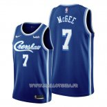 Maillot Los Angeles Lakers Javale Mcgee No 7 Classic Edition 2019-20 Bleu