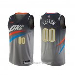Maillot Oklahoma City Thunder Personnalise Ville Gris