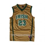 Maillot St. Vincent-st. Mary Lebron James No 23 Or