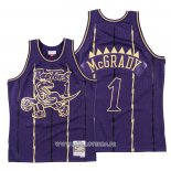 Maillot Tornto Raptors Tracy Mcgrady No 1 2020 Chinese New Year Throwback Volet