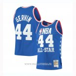 Maillot All Star 1985 George Gervin NO 44 Azul