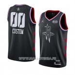 Maillot All Star 2019 Houston Rockets Personnalise Noir