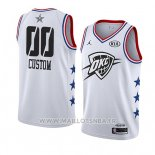 Maillot All Star 2019 Oklahoma City Thunder Personnalise Blanc
