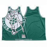 Maillot Boston Celtics Mitchell & Ness Big Face Vert