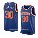 Maillot New York Knicks Julius Randle No 30 Icon 2019-20 Bleu