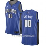Maillot Orlando Magic Personnalise 2017-18 Bleu