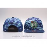 Casquette Boston Celtics Snapback Bleu