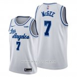 Maillot Los Angeles Lakers Javale Mcgee No 7 Classic Edition 2019-20 Blanc