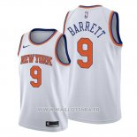 Maillot New York Knicks R.j. Barrett No 9 Association 2019-20 Blanc
