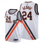 Maillot Portland Trail Blazers Paul George No 24 Ville 2019-20 Blanc
