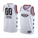 Maillot All Star 2019 New Orleans Pelicans Personnalise Blanc