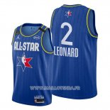 Maillot All Star 2020 Los Angeles Clippers Kawhi Leonard No 2 Bleu