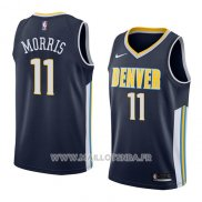 Maillot Denver Nuggets Monte Morris No 11 Icon 2018 Bleu