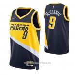 Maillot Indiana Pacers T.j. Mcconnell No 9 Statement 2019-20 Or