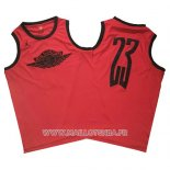 Maillot Michael Jordan No 23 Wings Special Rouge