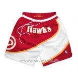 Short Atlanta Hawks 1986-87 Rouge