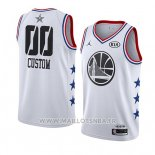 Maillot All Star 2019 Golden State Warriors Personnalise Blanc