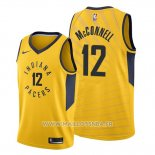 Maillot Indiana Pacers T.j. Mcconnell No 12 Statement Or