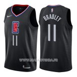 Maillot Los Angeles Clippers Avery Bradley No 11 Statement 2019 Noir