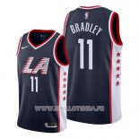 Maillot Los Angeles Clippers Avery Bradley No 11 Ville 2019 Bleu