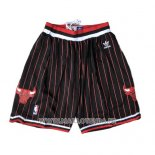 Short Chicago Bulls Noir Rouge