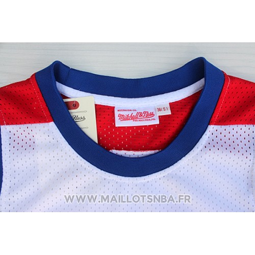 Maillot All Star 1980 Julius Erving No 6 Blanc