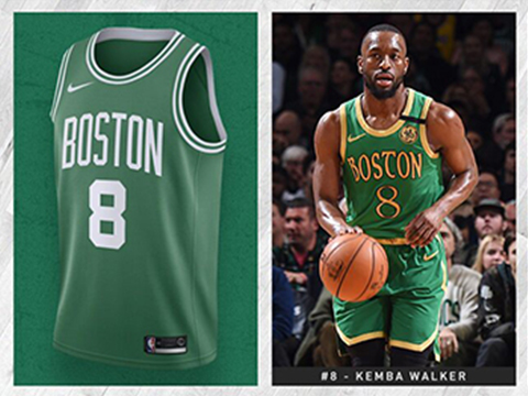 Maillot Basket Boston Celtics