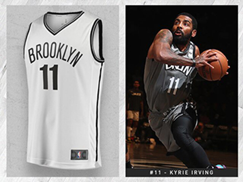 Maillot Basket Brooklyn Nets