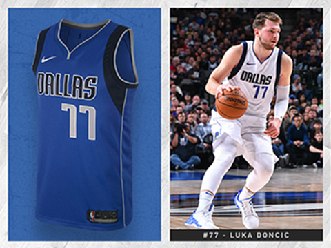 Maillot Basket Dallas Mavericks