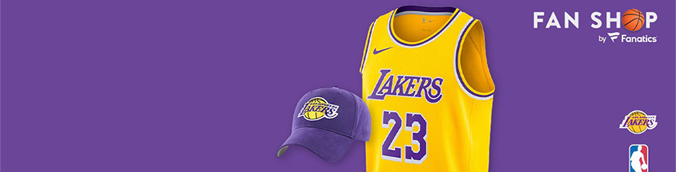 maillot nba Los Angeles Lakers